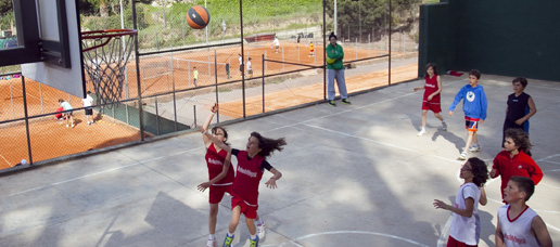 Colonias de baloncesto